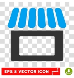 Shop eps icon vector