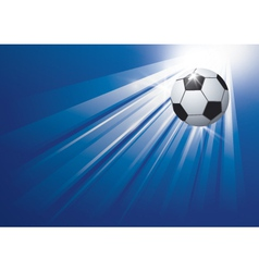 Football background design vector image