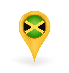 Location jamaica vector