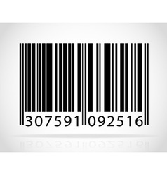 barcode 01 vector image