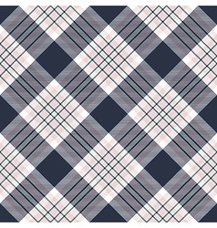 Check diagonal plaid seamless pattern vector image vector image