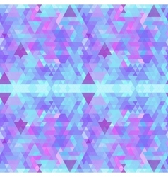 Colorful bright polygonal geometric background vector image vector image