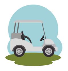 golf club sport icon vector image vector image