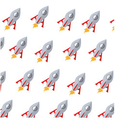 Rocket science background vector
