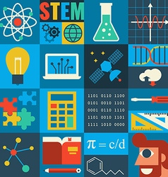 STEM Education vector image vector image