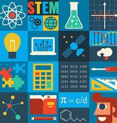 STEM Education vector image