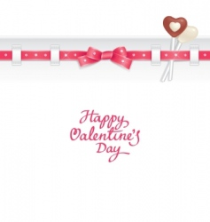 valentine candy background vector image vector image