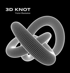 3d knot vector