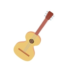 Charango icon in cartoon style vector image