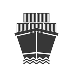 Ship icon delivery and shipping graphic vector