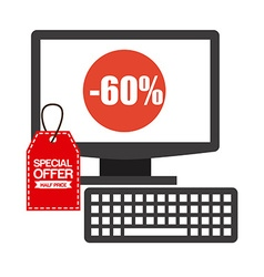 ecommerce design vector image