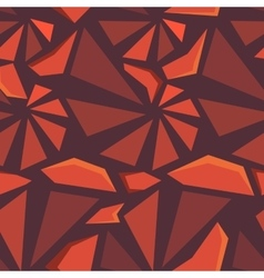 Geometric 3d seamless pattern vector image