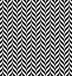Zig zag pattern vector image vector image