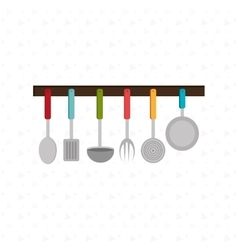 Kitchen utencils design vector