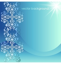 decorative cover template fourteen vector image
