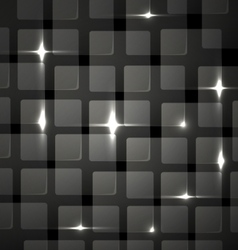 Abstract background - metal club mosaic vector image vector image