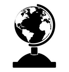 Isolated globe icon vector