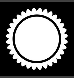 sun it is icon vector image
