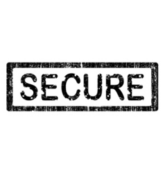 Office stamps secure vector