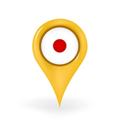 Location japan vector