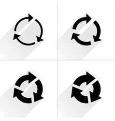 Arrow icon reload refresh reset repeat sign vector