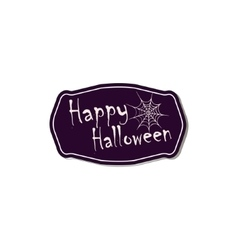 Halloween symbols and attributes vector image vector image