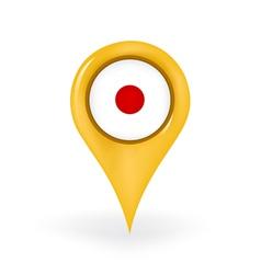 Location japan vector