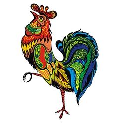 Bright Cockerel vector image