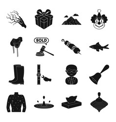 Plumbing disease circus and other web icon in vector