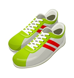 icon shoes vector image
