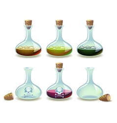 potions vector image