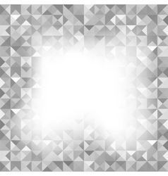 Background with Geometric Triangles Old Mosaic vector image