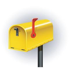 post box vector image vector image