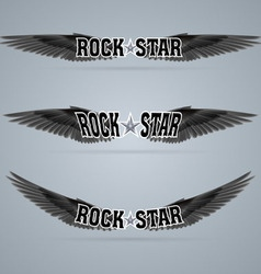 Rock star vector image vector image