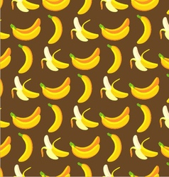 Banana pattern vector