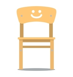 Children chair vector