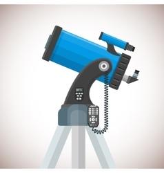 Flat catadioptric telescope vector