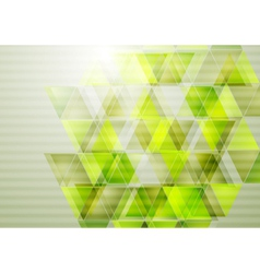 Green technology design vector image