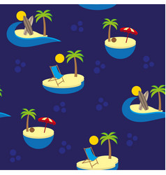 Islands pattern vector