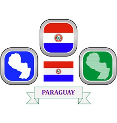 symbol of Paraguay vector image vector image
