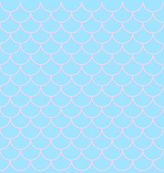 Texture of scales on mermaid vector