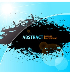abstract grunge background shining vector image