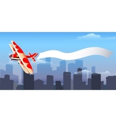 Airplane with message vector