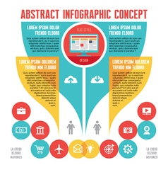 Abstract infographic Business Concept vector image vector image