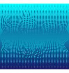 blue halftone vector image vector image