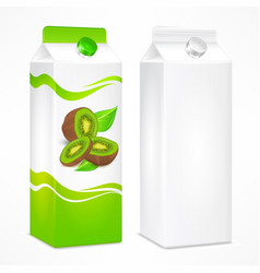 kiwi juice package vector image