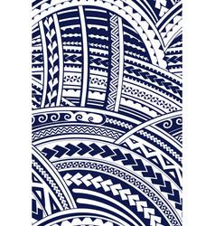 Samoa style ornament vector