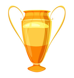 winner cup icon cartoon style vector image vector image