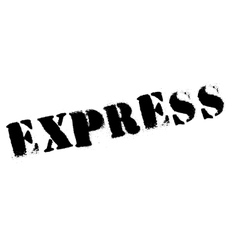 Express stamp rubber grunge vector