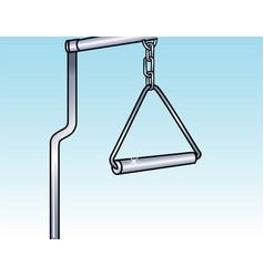 trapeze bar vector image
